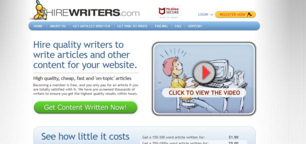 HireWriters.com