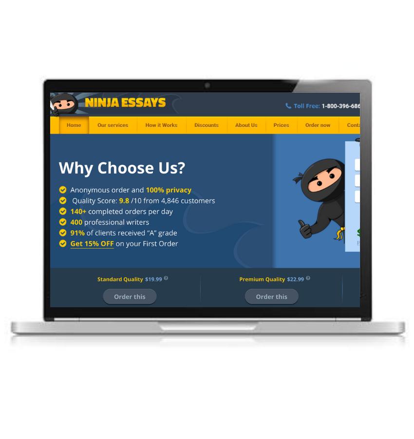 ninjaessays website