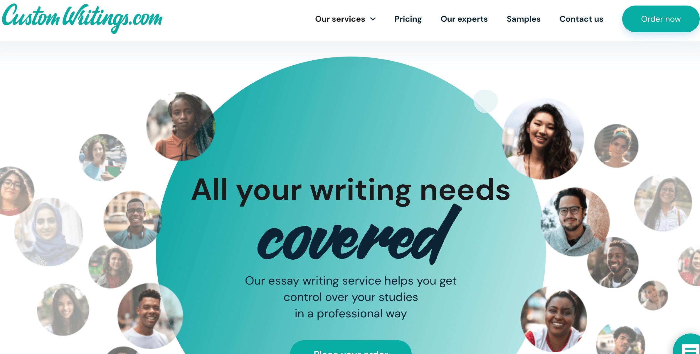 customwritings.com website
